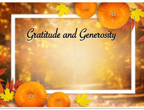 On the Trail of Gratitude and Generosity