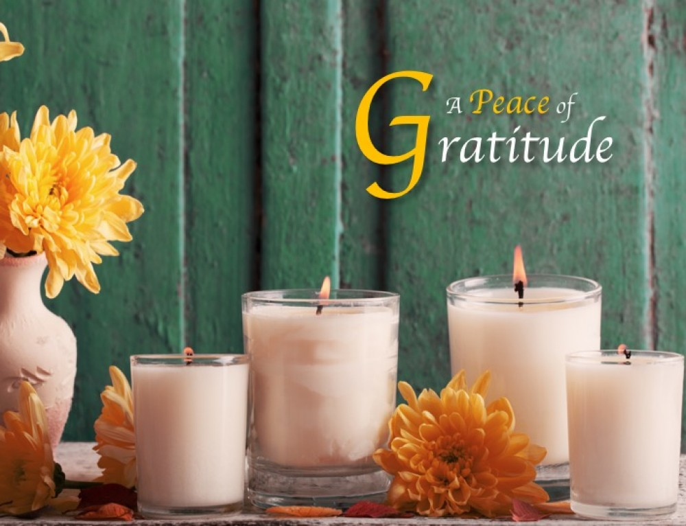 Gratitude and Peace Together